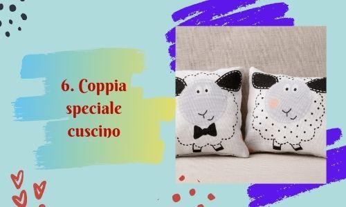 6. Coppia speciale cuscino