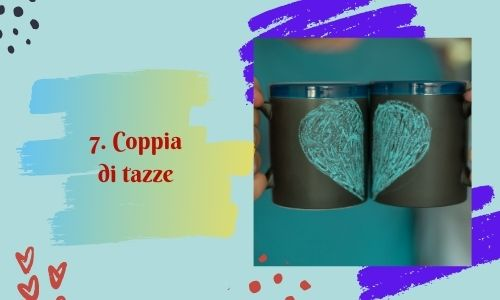 7. Coppia di tazze
