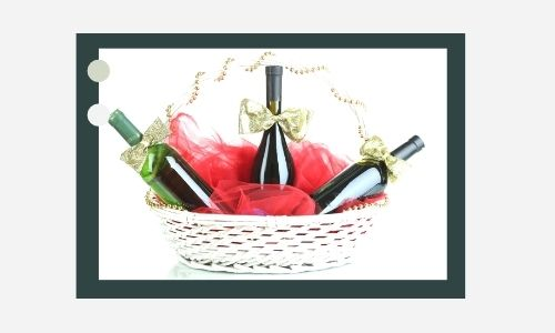 4. Cesto regalo perfetto per il vino