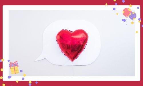 1. Palloncini speciali con messaggio