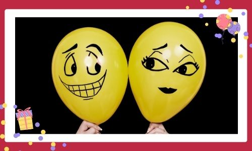 2. Palloncini colorati con personaggi