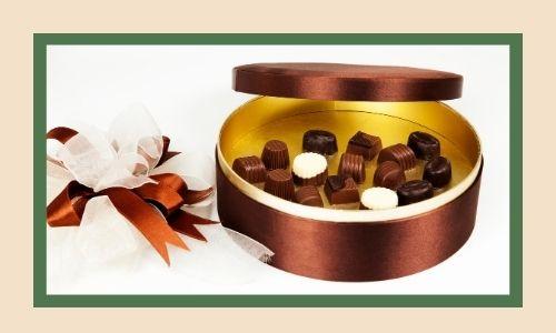 2. Scatola di cioccolatini speciale