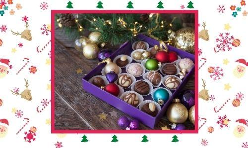 5) Scatola di cioccolatini