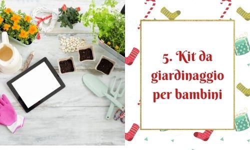 5. Kit da giardinaggio per bambini