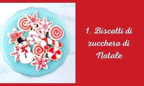 1. Biscotti di zucchero di Natale