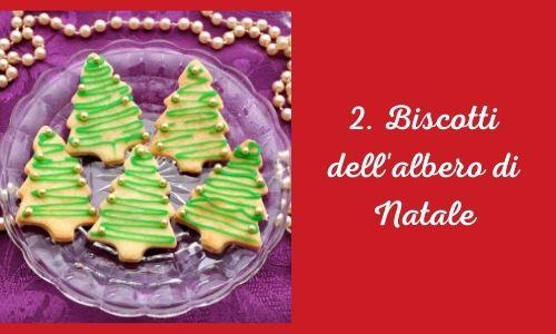 2. Biscotti dell'albero di Natale