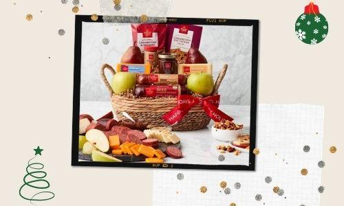 7. frutta e Noce regalo cestino