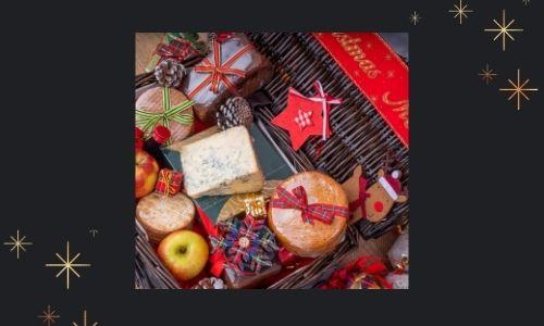 1) Cesto regalo per biscotti al cioccolato