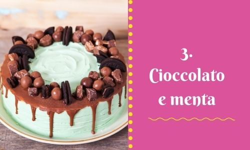 3. Cioccolato e menta