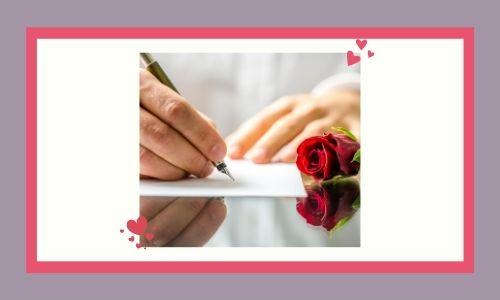 7. Lettera d'amore
