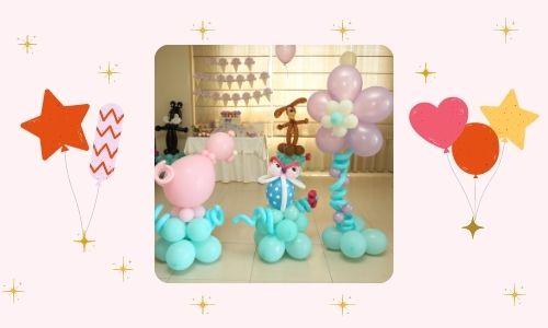 6. Idea di decorazione di palloncini Disney per San Valentino