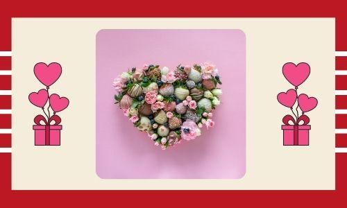 2) Cioccolato e composizione floreale