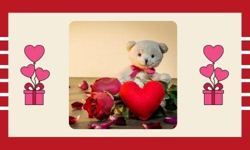 5) Rose e orsacchiotto