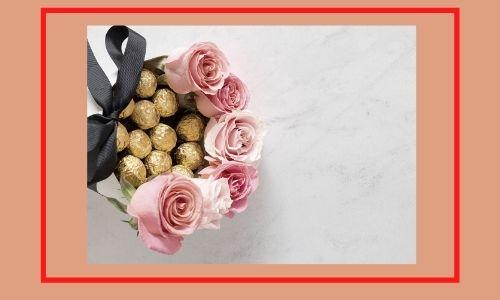 1. Bellissime rose e bouquet di cioccolato
