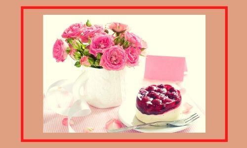 6. Rose popolari con torta