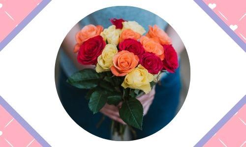 1. Bouquet di fiori attraente