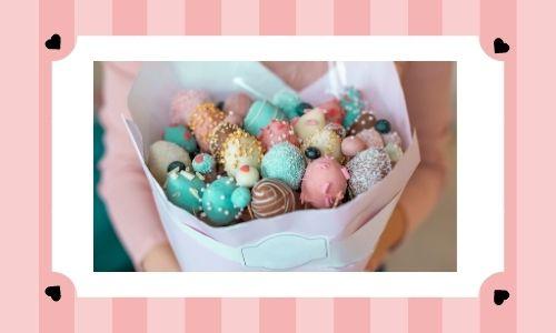 1. Bouquet di cioccolato perfetto