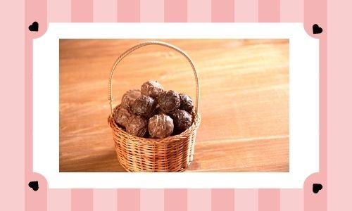 3. Cestino di cioccolato speciale