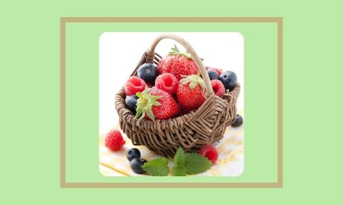 1. Cesto di frutta fresca