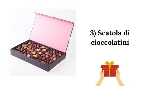 3) Scatola di cioccolatini