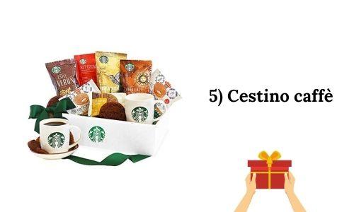 5) Cestino caffè