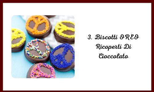 3. Biscotti OREO Ricoperti Di Cioccolato