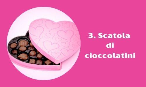 3. Scatola di cioccolatini