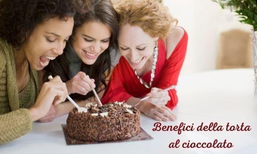 Benefici della torta al cioccolato