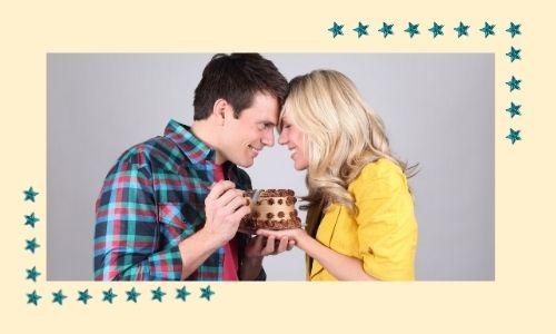 3. Deliziosa torta per condividere la felicità