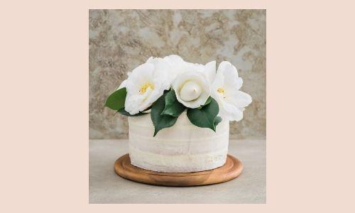 1. Torta ai fiori di vaniglia