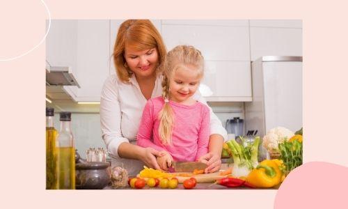 3. Cucina il suo pasto speciale
