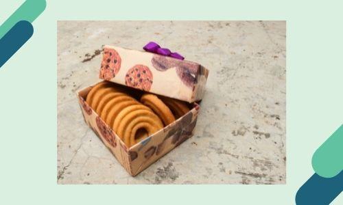 5. Scatola dei biscotti