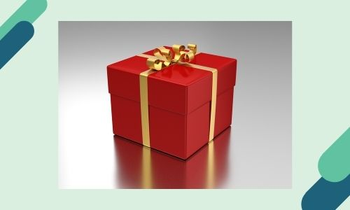 6. Personalizza regalo