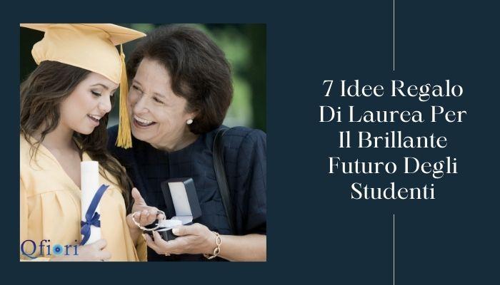 7 Idee Regalo Di Laurea Per Il Brillante Futuro Degli Studenti