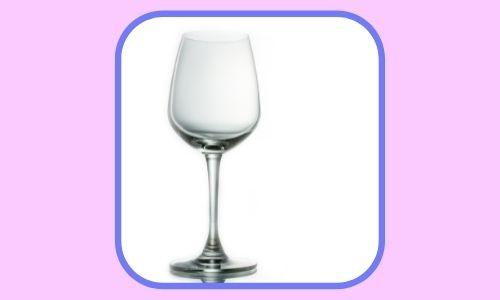 6) Bicchieri da vino