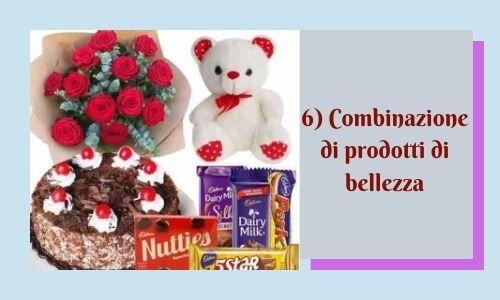 6) Combinazione di prodotti di bellezza