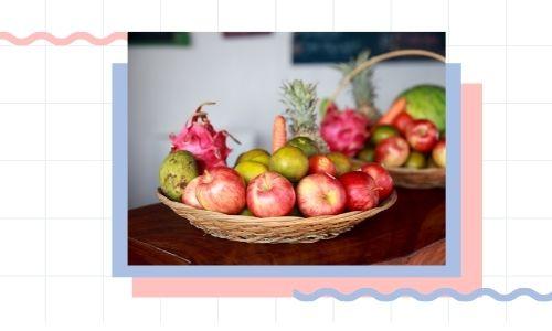 6) Cesto di frutta