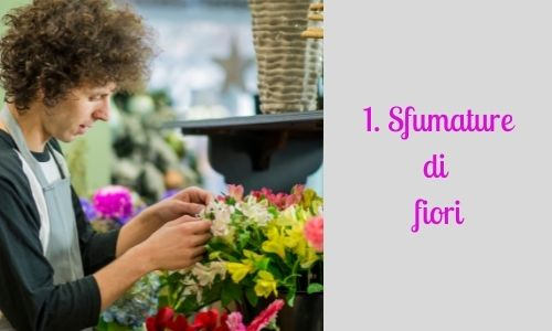 1. Sfumature di fiori