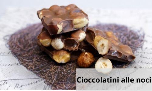 Cioccolatini alle noci