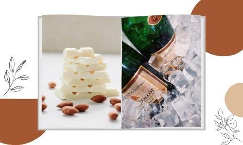 Cioccolato bianco e vino ghiacciato